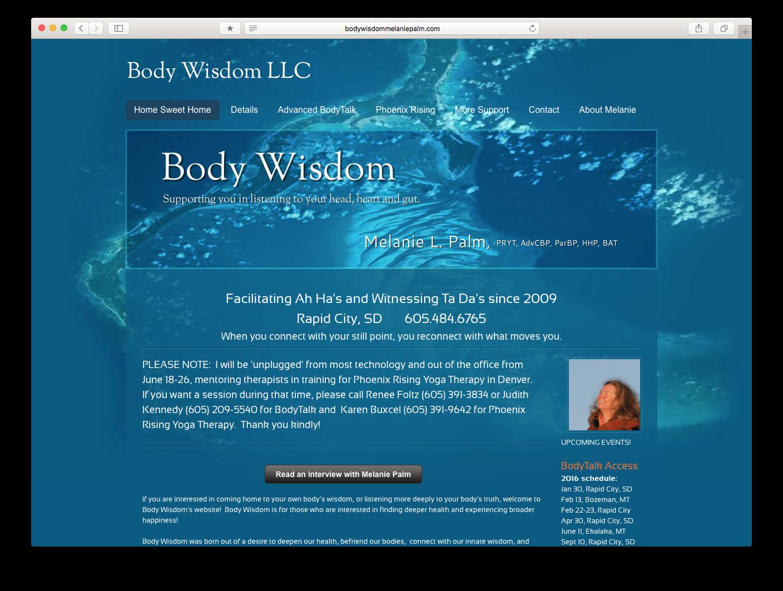 Body Wisdom Melenie Palm